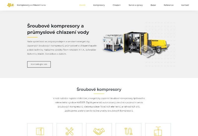 Kompresory a chlazení
